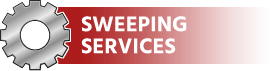 Sweeping services offered by J.W. Fleming in Duncansville, PA